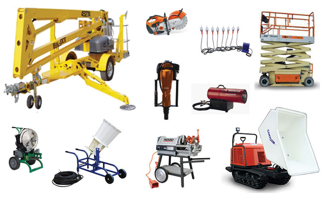 Equipment Rentals in Sulphur LA