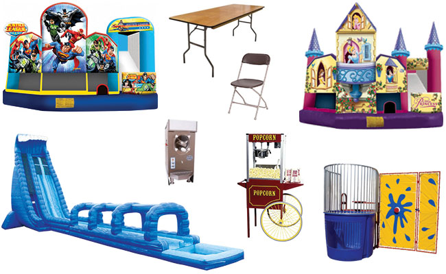 Party rentals in Sulphur LA