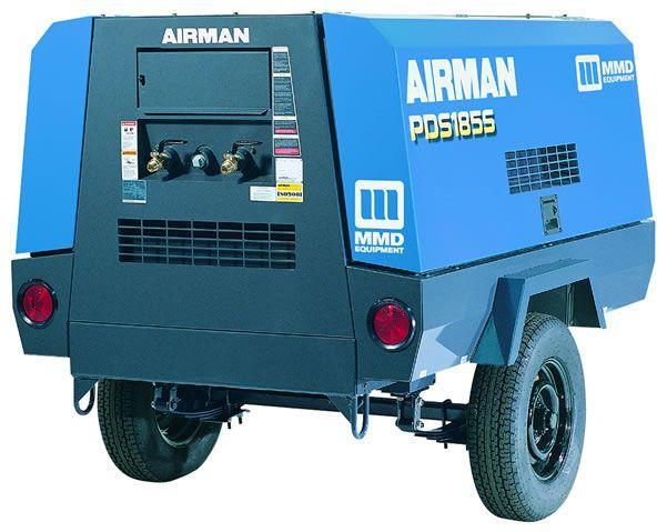 Where to find Compressor, 185 CFM, Diesel in Lake Charles
